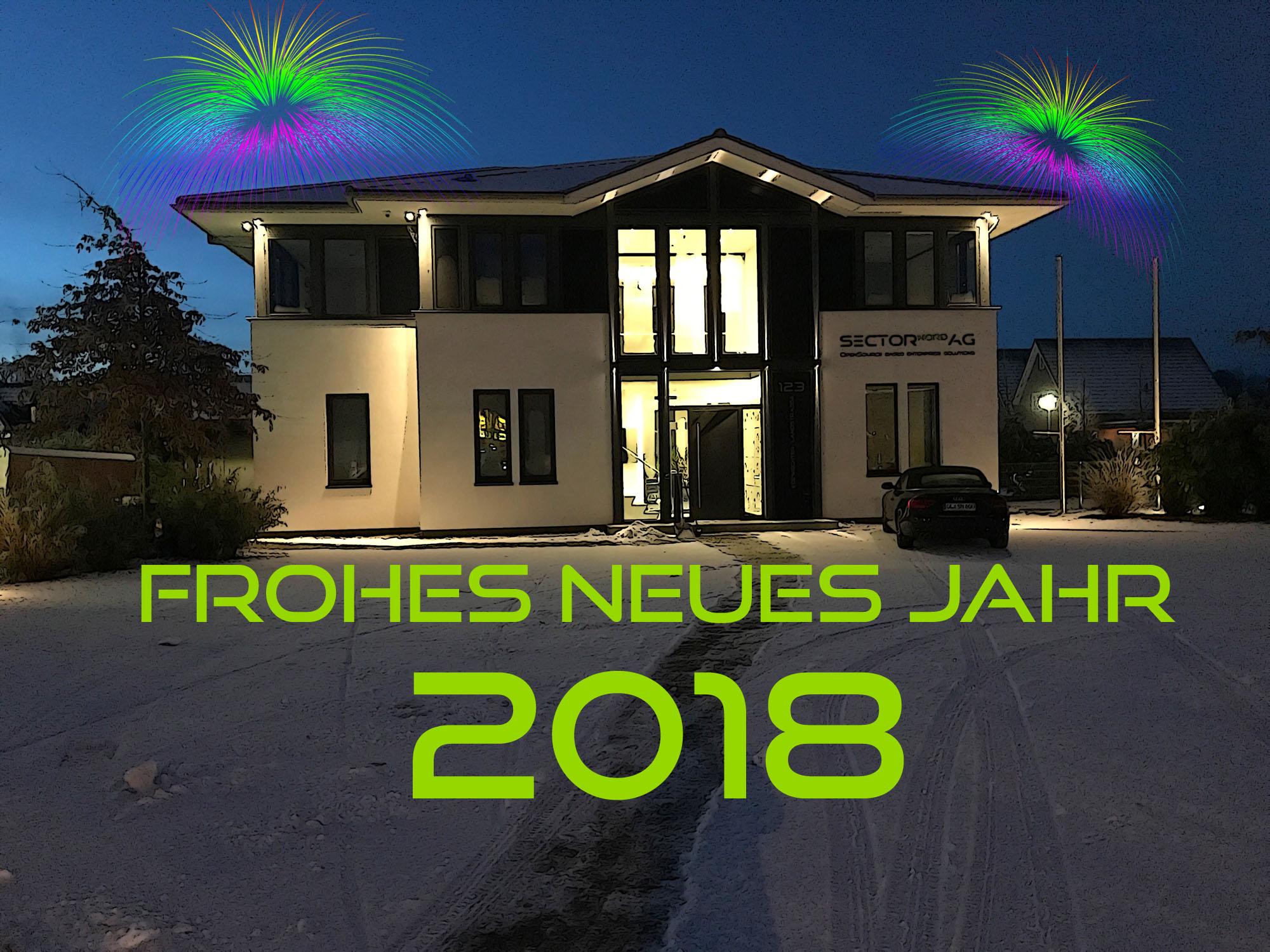 Die Sector Nord AG wünscht ein frohes neues Jahr 2018 - Sector Nord ...
